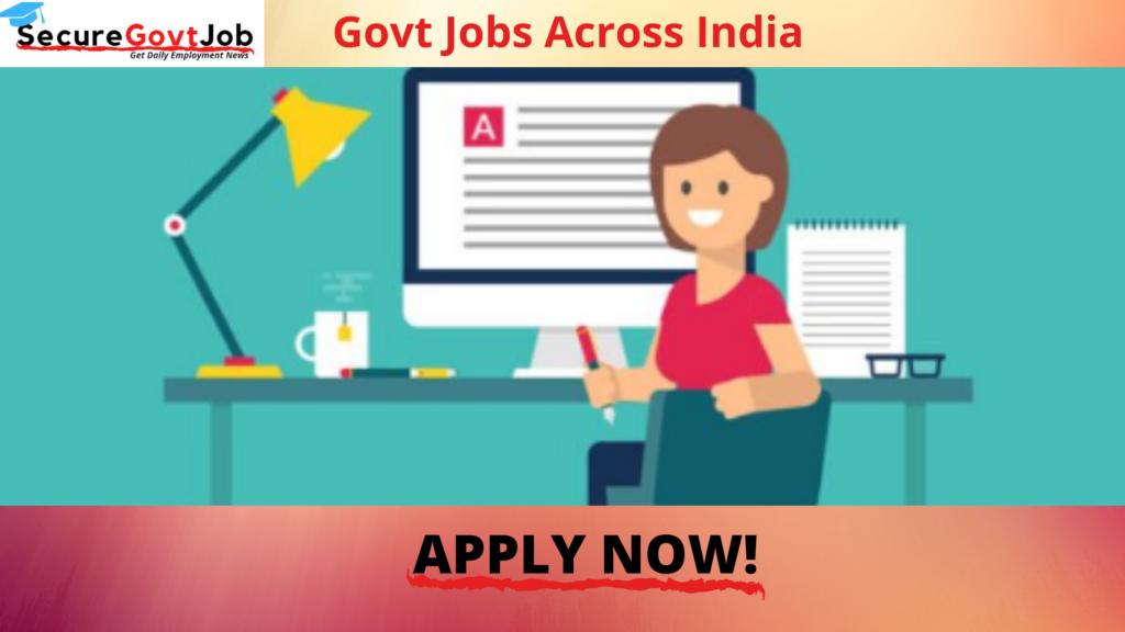 Govt Jobs Across India