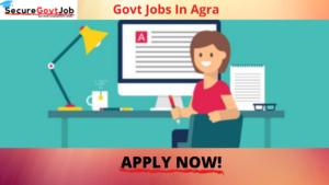 Govt Jobs in Agra