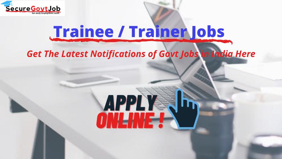 Trainer Jobs 2021