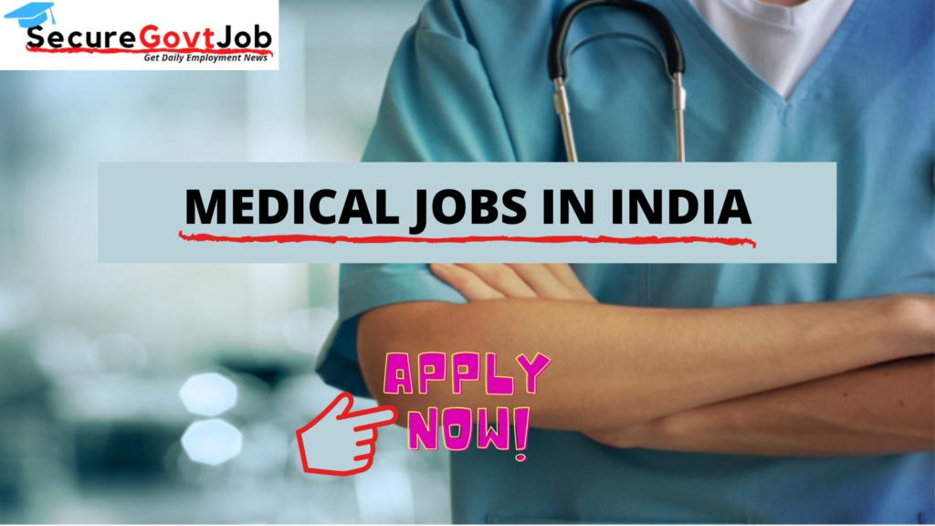Medical Jobs 2021