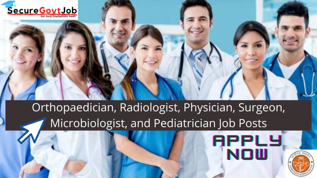 Physician Radiologist and more Jobs in Chandigarh